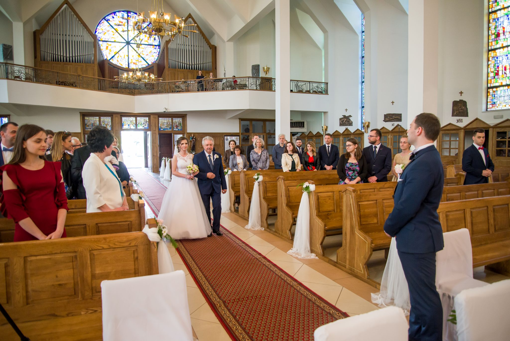 na ślubie z tatą do ołtarza