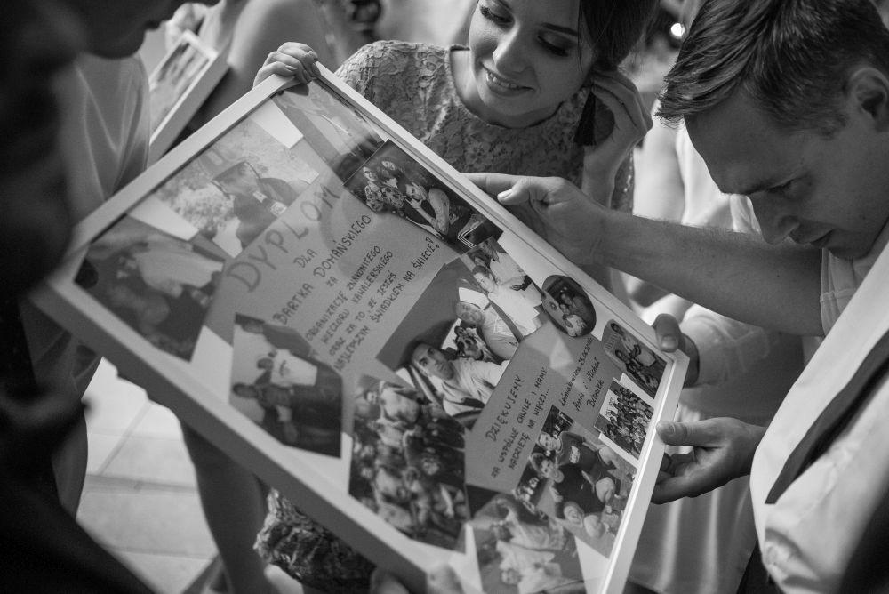 prezenty od gości weselnych