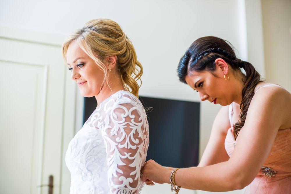 przygotowania ślubne w willi estera