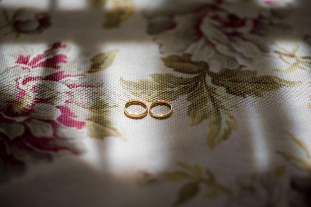 zdjęcie ślubne obrączek
