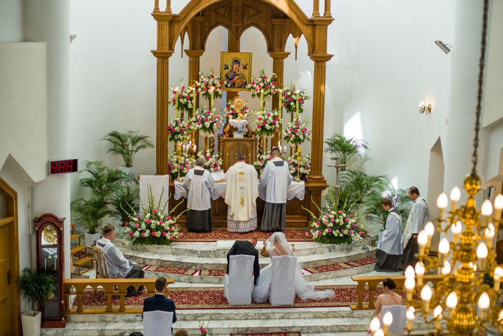 ślub w warszawie w kościele starokatolickim fotografia ślubna