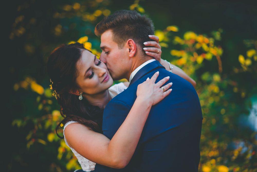 zdjęcia ślubne Park Arkadia