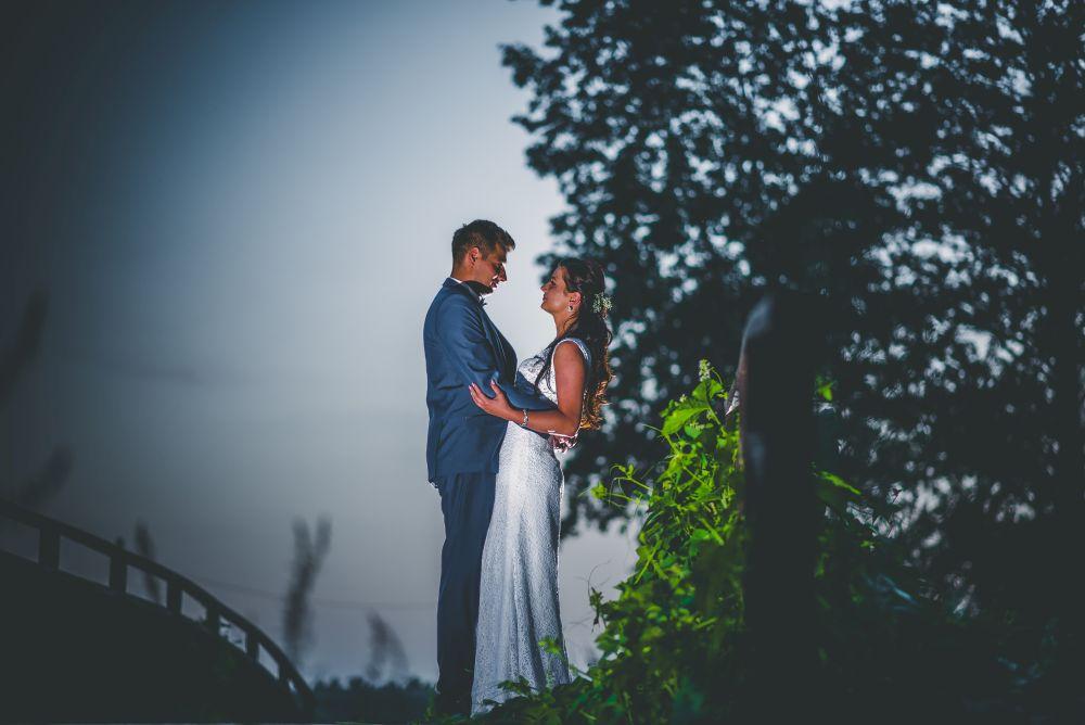 fotografia ślubna w Parku Arkadia
