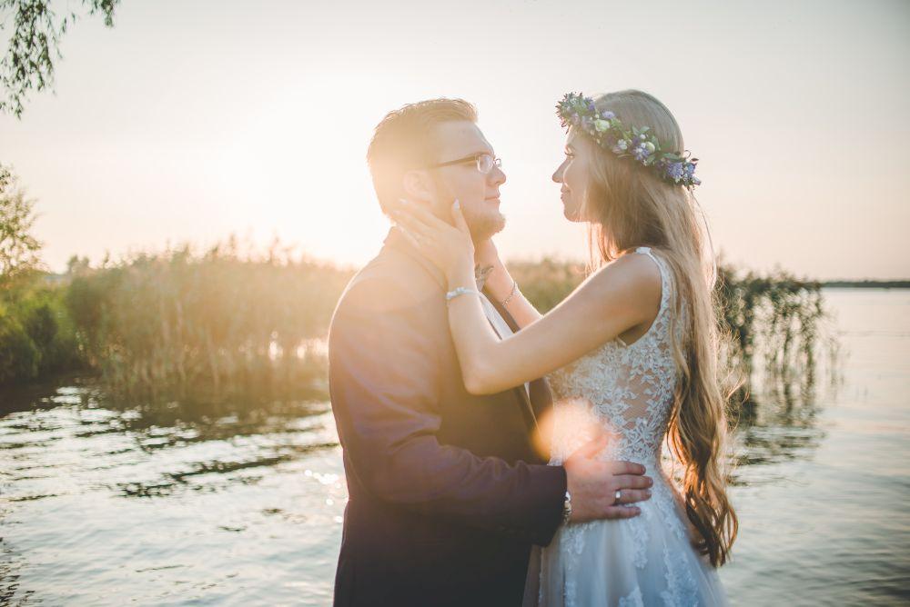 plener nad wodą fotografia ślubna nieporęt