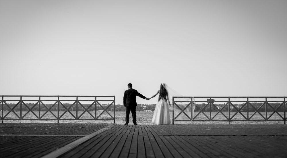 plener nad zegrzem zdjęcia ślubne