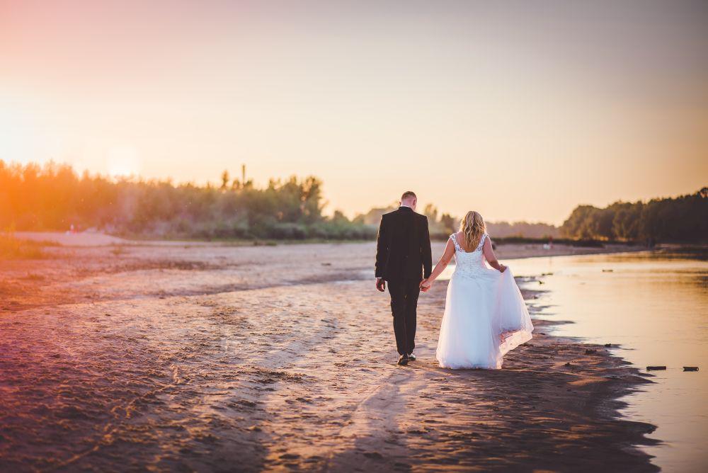 sesja plenerowa ślubna w innym dniu