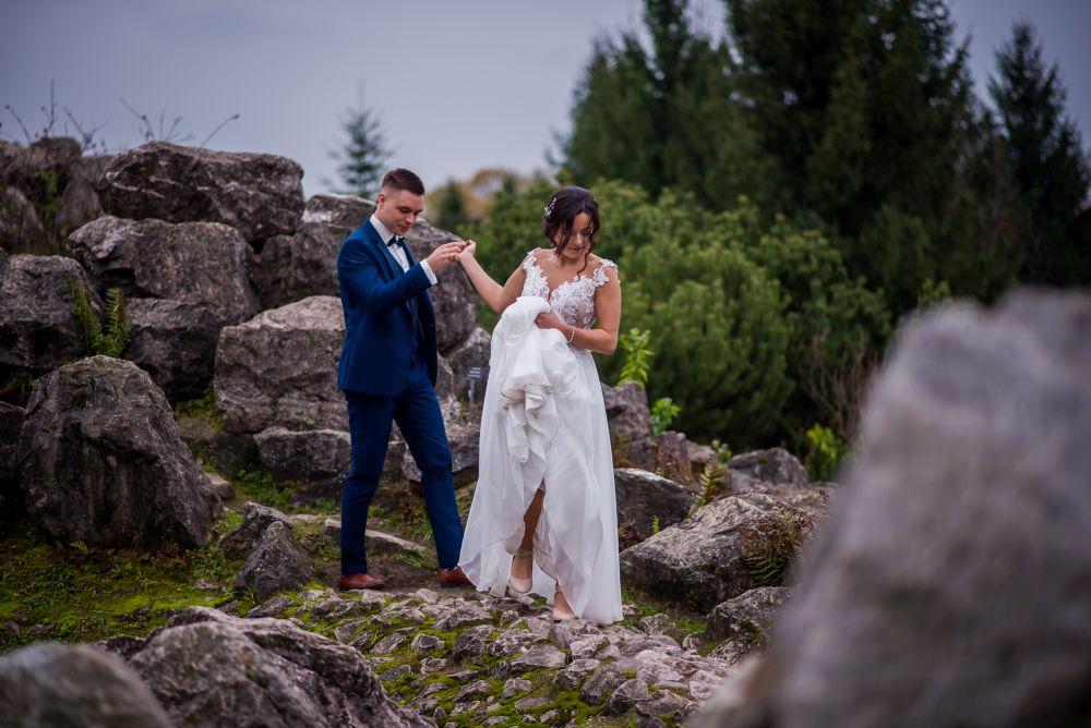 zdjęcia ślubne powsin