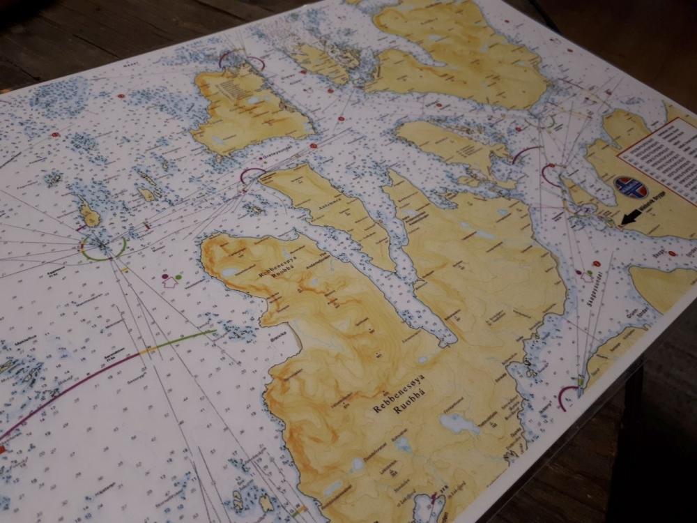 mapa polnoc norwegii w mikkelvik