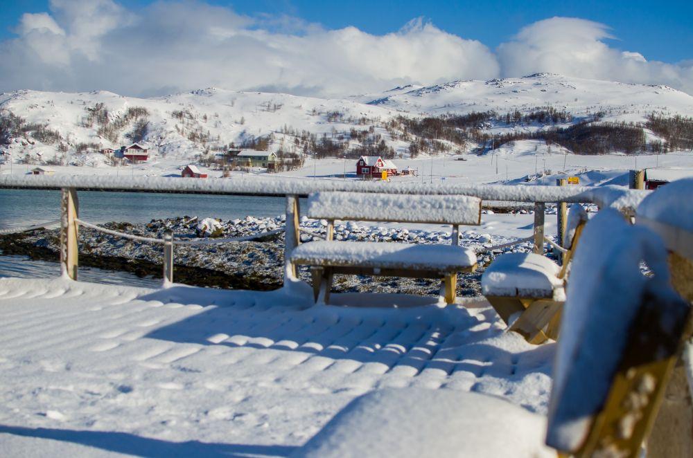 krajobrazy w norwegii w mikellvik